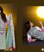 Mashaal Embroidered Shawl Collection 2014 By Lala Textile 6