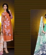 Mashaal Embroidered Shawl Collection 2014 By Lala Textile 7