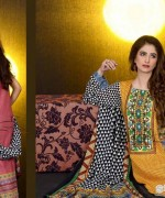 Mashaal Embroidered Shawl Collection 2014 By Lala Textile 8