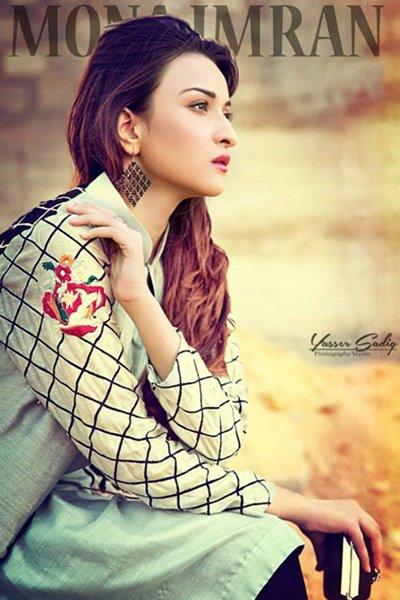 Mona Imran Autumn Dresses 2014 For Women