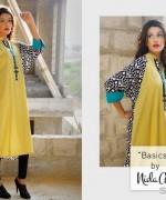 Nida Ali Winter Dresses 2014 For Girls 1
