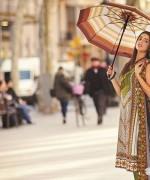 Orient Textiles Fall Winter Dresses 2014 For Women 1