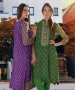 Orient Textiles Fall Winter Dresses 2014 For Women 11