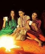 Orient Textiles Fall Winter Dresses 2014 For Women 12
