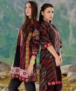 Orient Textiles Fall Winter Dresses 2014 For Women 2