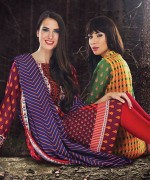 Orient Textiles Fall Winter Dresses 2014 For Women 3