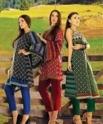 Orient Textiles Fall Winter Dresses 2014 For Women 6