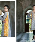 Rabea Kurti Collection 2014 by Shariq Textiles 3
