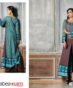 Rabea Kurti Collection 2014 by Shariq Textiles 9