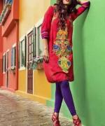 Rang Ja Winter Dresses 2014 For women