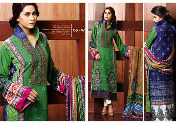 Resham Ghar Winter Dresses 2014 For Women 007