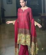 Sana Salman Winter Dresses 2014 For Women 001