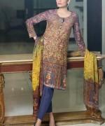 Sana Salman Winter Dresses 2014 For Women 0010