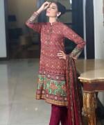 Sana Salman Winter Dresses 2014 For Women 0015