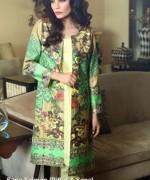 Sana Salman Winter Dresses 2014 For Women 004