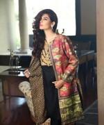 Sana Salman Winter Dresses 2014 For Women 0081