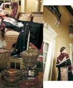 Shaista Cloth Winter Dresses 2014 Volume 3 For Women 0011