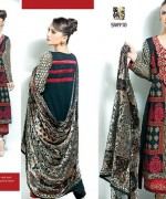 Shaista Cloth Winter Dresses 2014 Volume 3 For Women 005