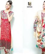 Shaista Cloth Winter Dresses 2014 Volume 3 For Women 9018