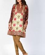 Shamaeel Ansari winter dresses 2014 For Women 0021