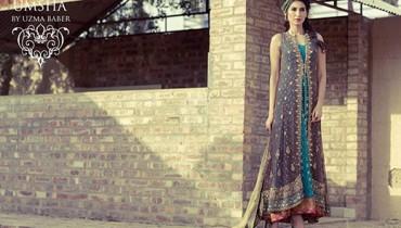 Umsha By Uzma Babar Bridal Wear Dresses 2014 For Women 009