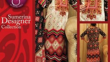 VS Textile Mills Autumn Dresses 2014 For Women 002