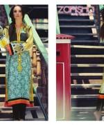 Zanisha Embroidered Linen Dresses 2014 by Al-Zohaib Textile 2