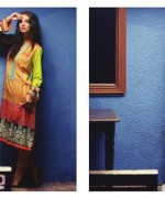 Zanisha Embroidered Linen Dresses 2014 by Al-Zohaib Textile 7