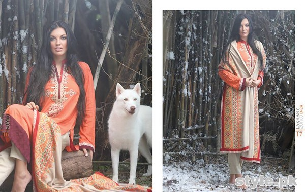 Zunuj Winter Dresses 2014 By LSM Fabrics 12