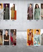 Al-Hamra Textile Linen Dresses 2014 Volume 1 For Women 0010