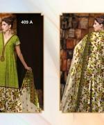 Al-Hamra Textile Linen Dresses 2014 Volume 1 For Women 0011