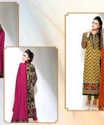 Al-Hamra Textile Linen Dresses 2014 Volume 1 For Women 0014