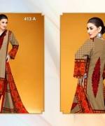 Al-Hamra Textile Linen Dresses 2014 Volume 1 For Women 003