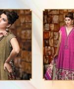 Al-Hamra Textile Linen Dresses 2014 Volume 1 For Women 004