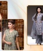 Al-Hamra Textile Linen Dresses 2014 Volume 1 For Women 005