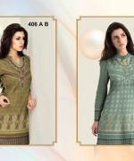 Al-Hamra Textile Linen Dresses 2014 Volume 1 For Women 007