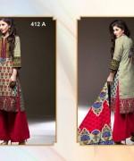 Al-Hamra Textile Linen Dresses 2014 Volume 1 For Women 009