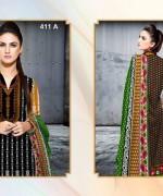 Al-Hamra Textile Linen Dresses 2014 Volume 1 For Women 016