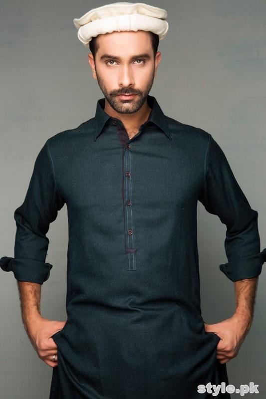 Amir Adnan Winter Collection 2014 For Men 3