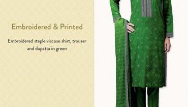 Bareeze Winter Dresses 2014 For Women 0010