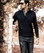 Charcoal Winter Dresses 2014-15 For Men 4