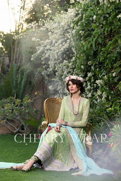Cherry Wrap Wedding Dresses 2014 For Women 006