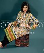 Cotton Ginny Digital Print Dresses 2014 For Winter 1