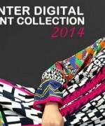 Cotton Ginny Digital Print Dresses 2014 For Winter 3
