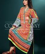 Cotton Ginny Digital Print Dresses 2014 For Winter 4