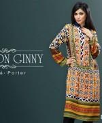 Cotton Ginny Digital Print Dresses 2014 For Winter 6