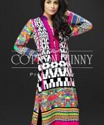 Cotton Ginny Digital Print Dresses 2014 For Winter 7