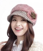 Designs Of Winter Caps 2014-2015 For Women 0013