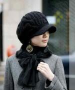 Designs Of Winter Caps 2014-2015 For Women 002