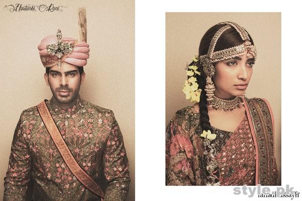 Fahad Hussayn Wedding Dresses 2014 For Boys and Girls 3